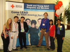 Youth Volunteers Pose