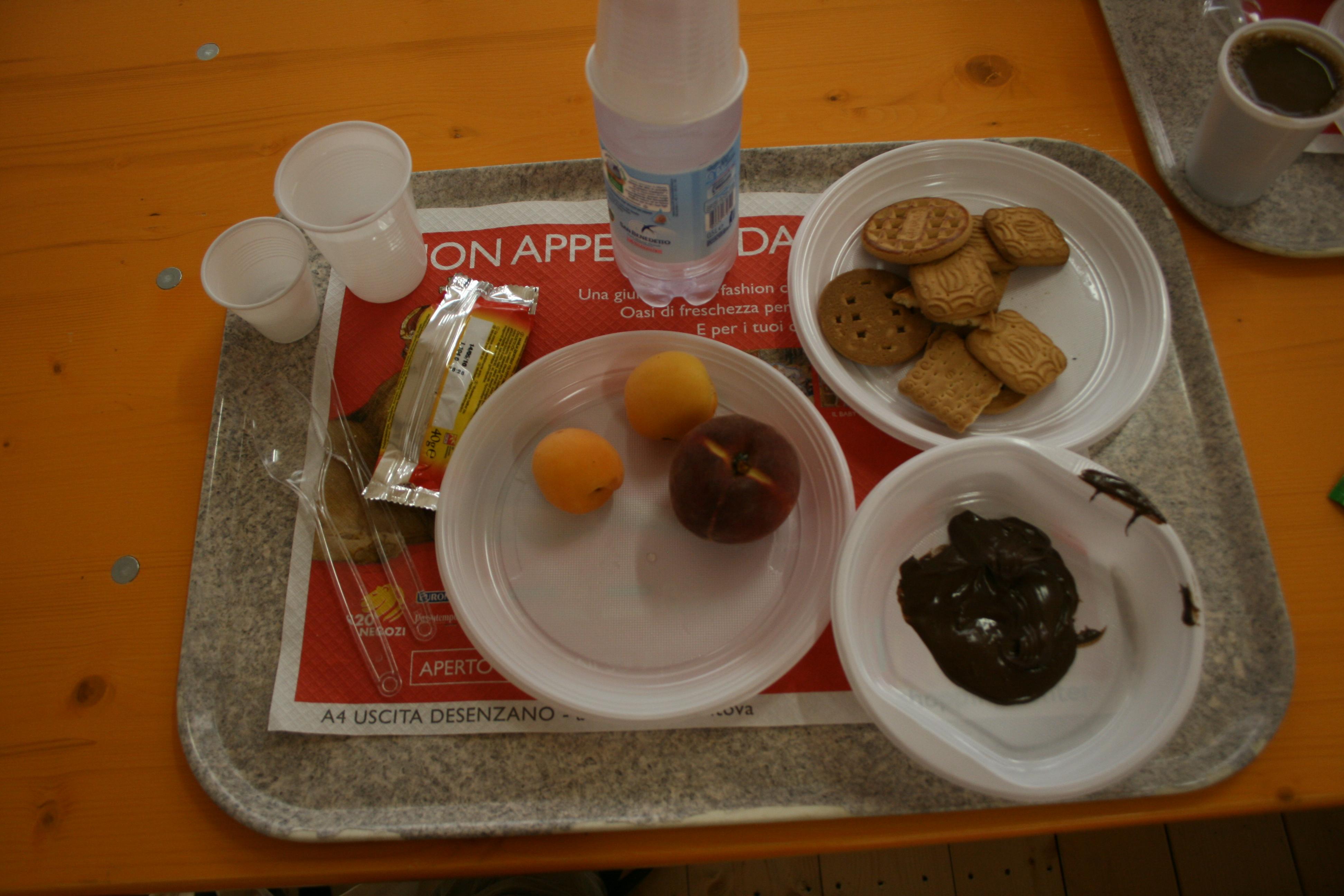 Nutella for breakfast?  I LOVE ITALY!