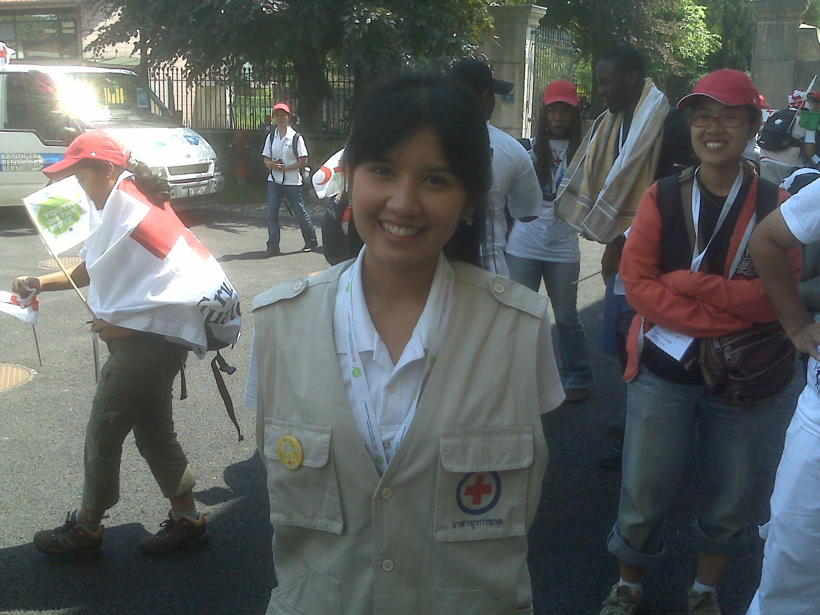 A chat with a Thai Red Cross volunteer : American Red Cross